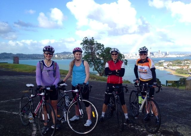 NZC Sat Ride up on North Head