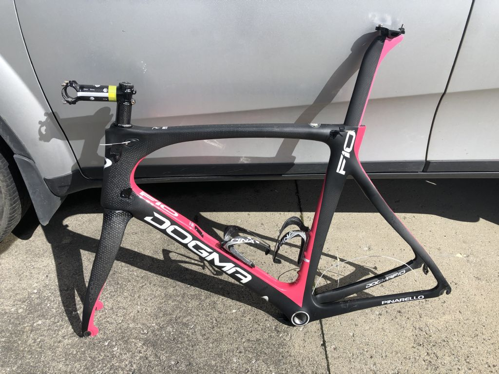 F10 Dogma frames available.   56cm & 59cm